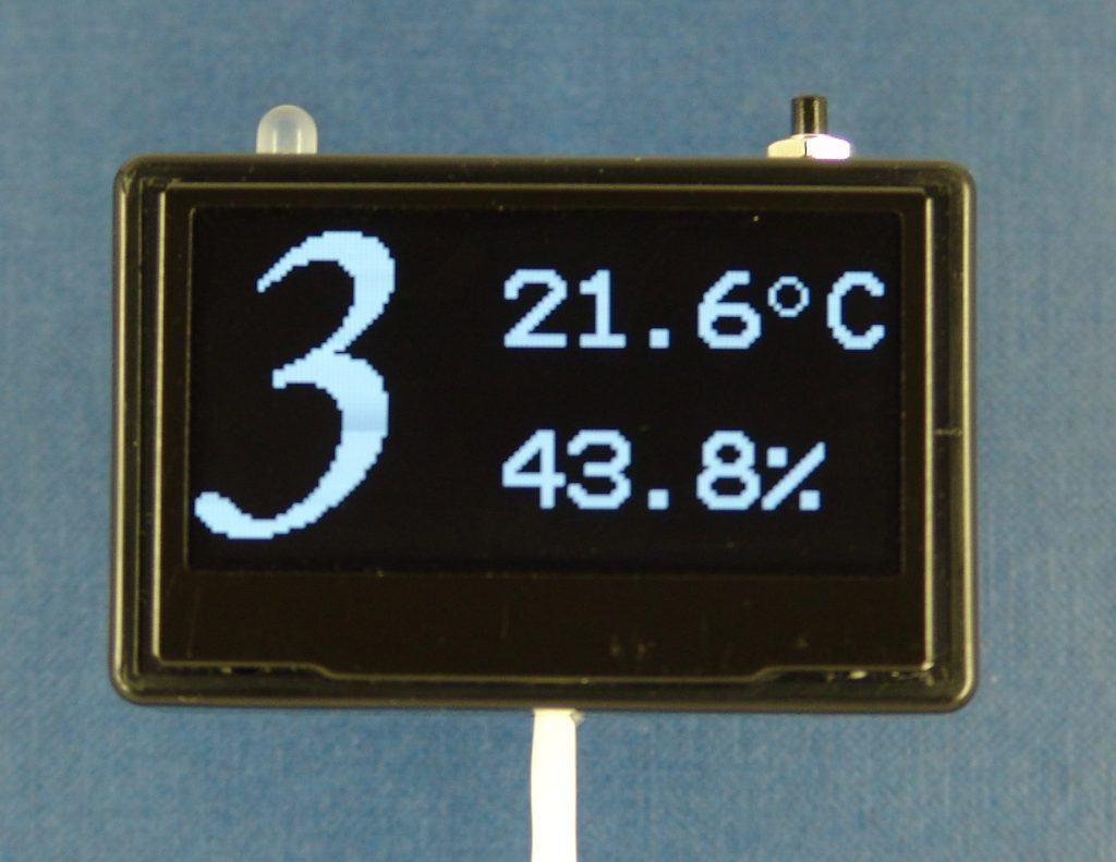 Индикаторная OLED панель 8 каналов измерения
